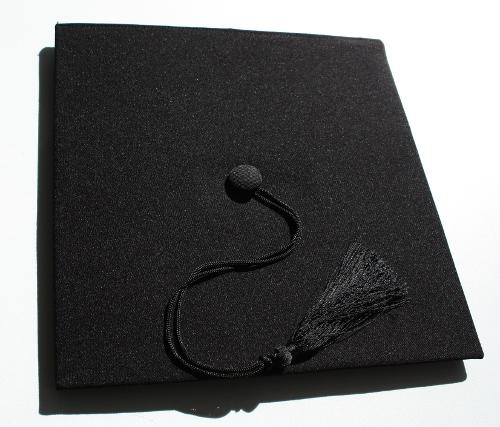 Abschluss Hut obenseite